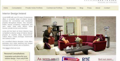Vision Interiors new website