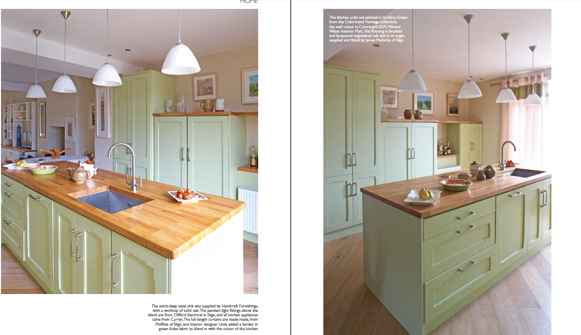 ... Ireland House And Home Magazine April 2013 Featuring Linda Moffitt,  Vision Interiors, Sligo, Ireland