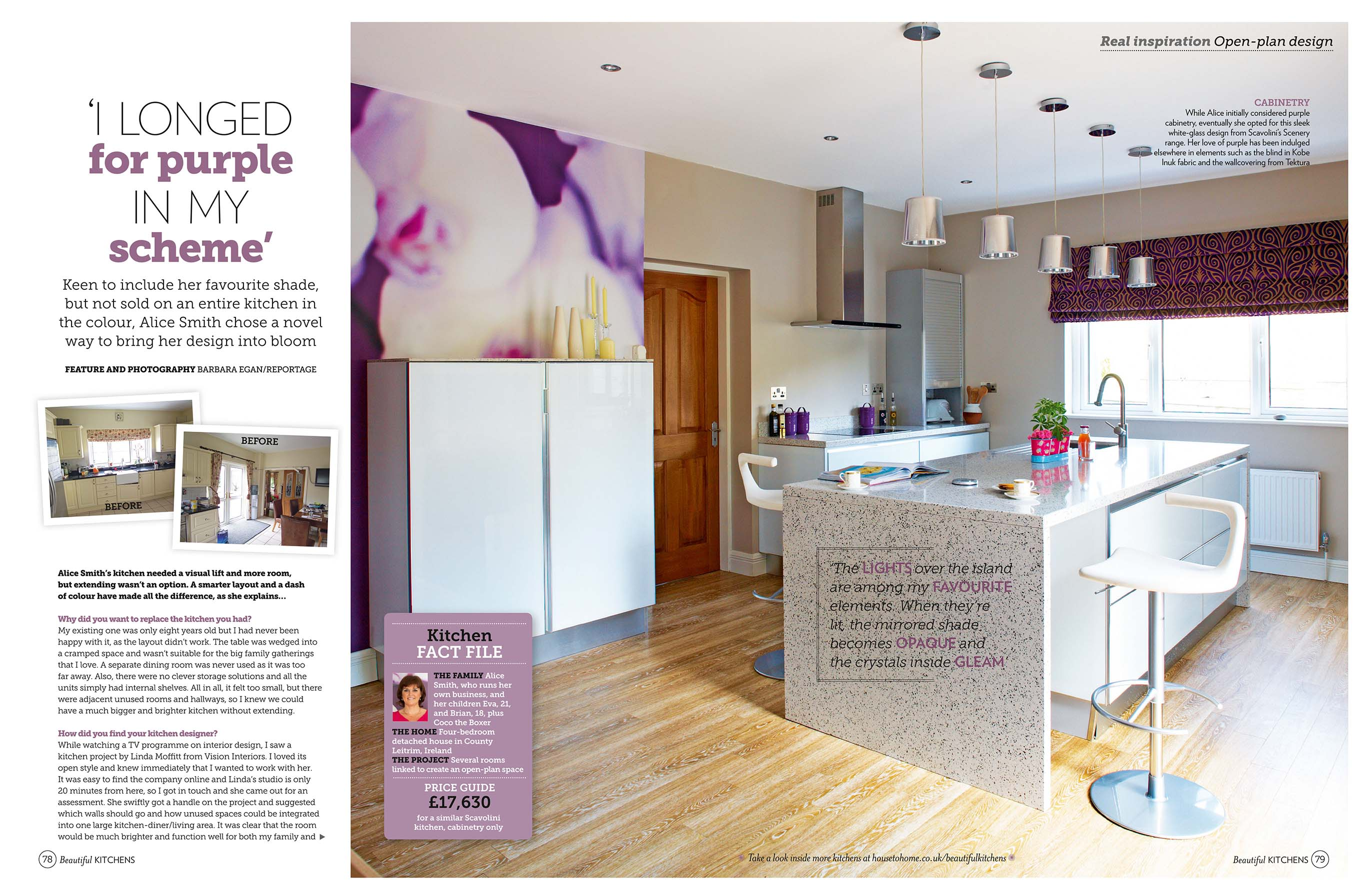 Beautiful Kitchens January 2013 Featuring Linda Moffitt From Vision Interiors SligoIreland