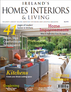 Ireland's Homes Interiors & Living Magazine Cover
