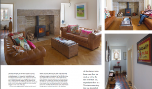 Linda Moffitt Vision Interiors features in Ireland's Homes and Interiors Living Magazine