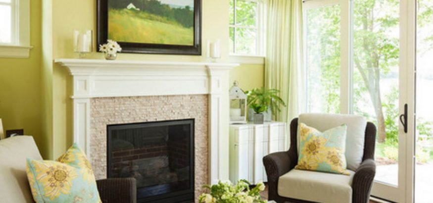 Greenery interior from Houzz.ie