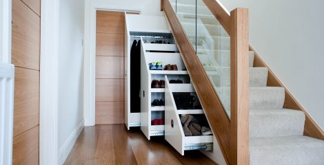 How to make most use of small spaces – with planning and organisation of storage