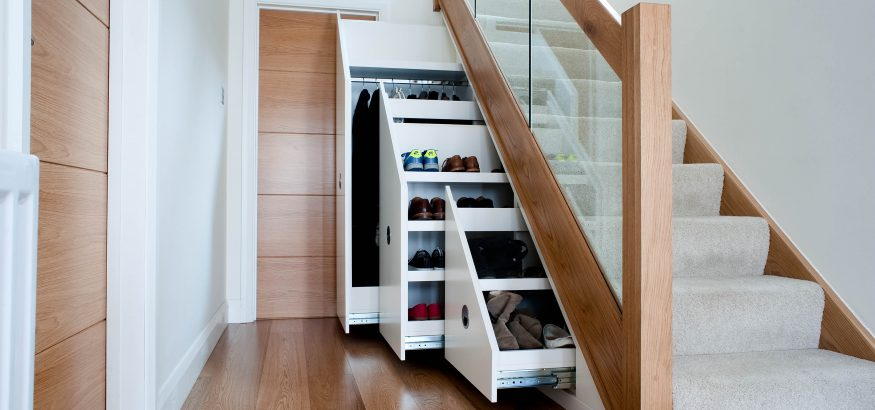 Clever storage solutions for small spaces
